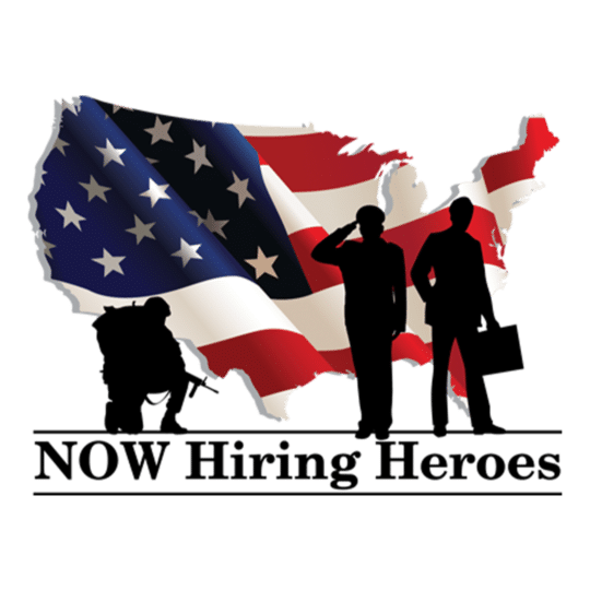 Now Hiring Heroes logo